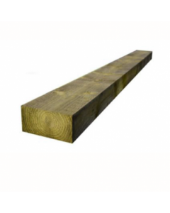 GREEN TREATED S/WOOD SLEEPER 100 X 200 X 2400MM