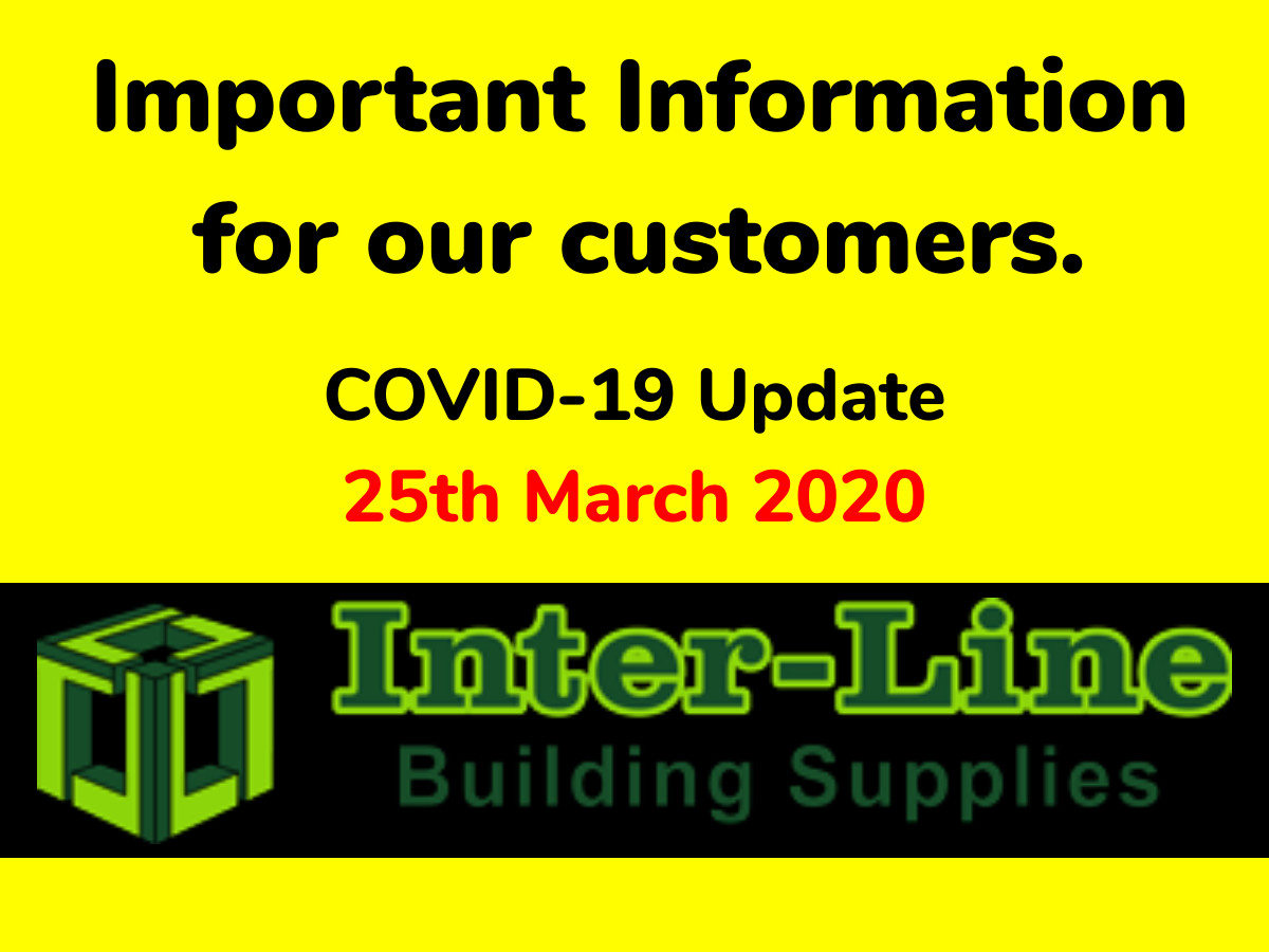 Company Update for COVID-19 25th March 2020