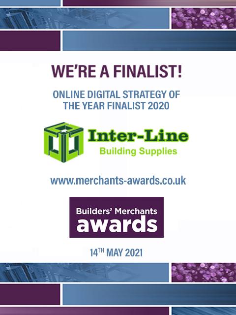 Builders' Merchant Awards Finalist 2nd Year Running