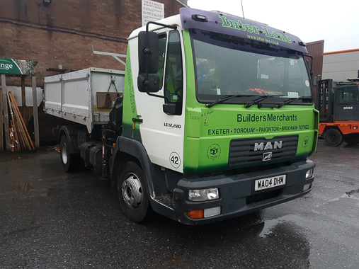 Lorry; MAN (Front H.I.A.B) Flatbed