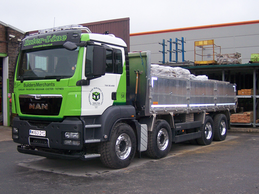 Lorry; MAN 8 Wheel Tipper/Flatbed